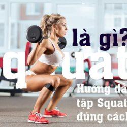16 bài tập squat hiệu quả
