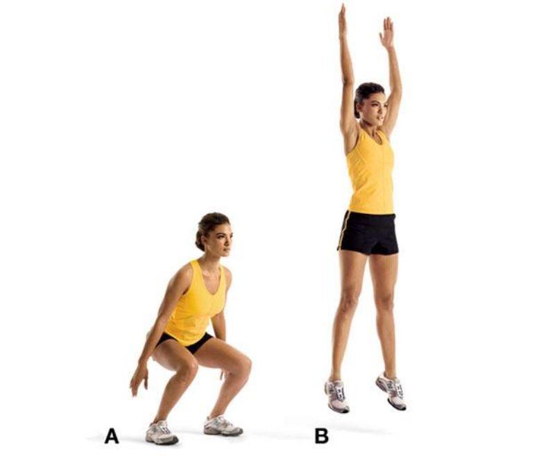 Không chỉ giúp cải thiện chiều cao một cách đáng kể, bài tập nhảy tại chỗ còn giúp tăng sức bền cho người tập