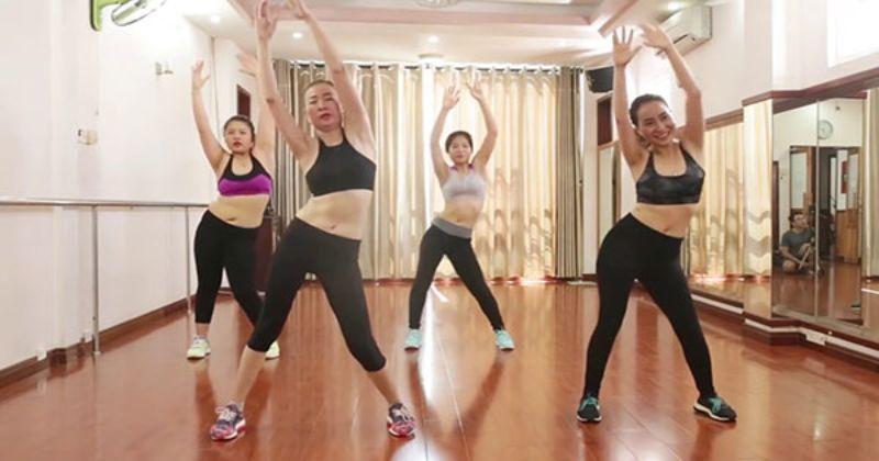 Lắc hông – Bài tập aerobic mang lại eo thon