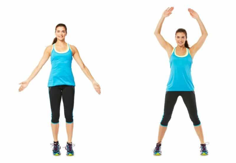Jumping Jacks - Bài tập aerobic tổng hợp cho toàn thân