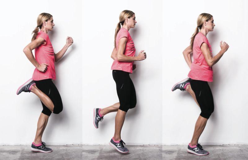 Butt Kicks - Bài tập aerobic cho nhóm cơ bị lãng quên