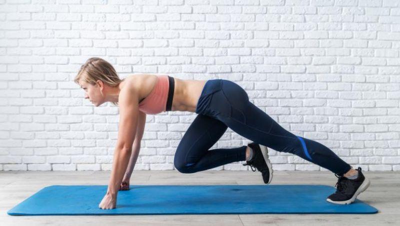 Mountain Climber - Bài tập aerobic cho nhóm cơ vận động