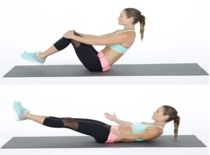 Bài tập gập bụng nâng cao chân chính là phương pháp hữu hiệu để có một vòng eo hoàn hảo