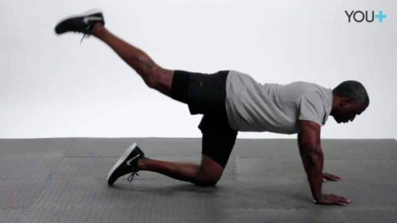 Đá ngược hay còn gọi Kickback là động tác thể dục thẩm mỹ
