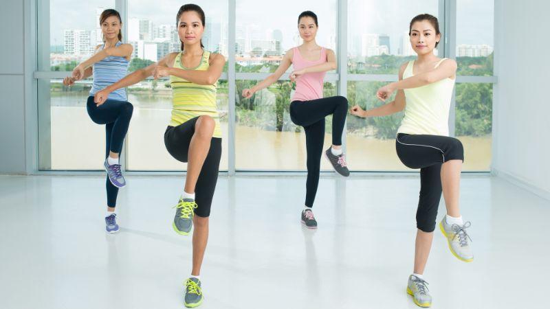 Luyện tập Aerobic có thể giảm đau lưng hiệu quả