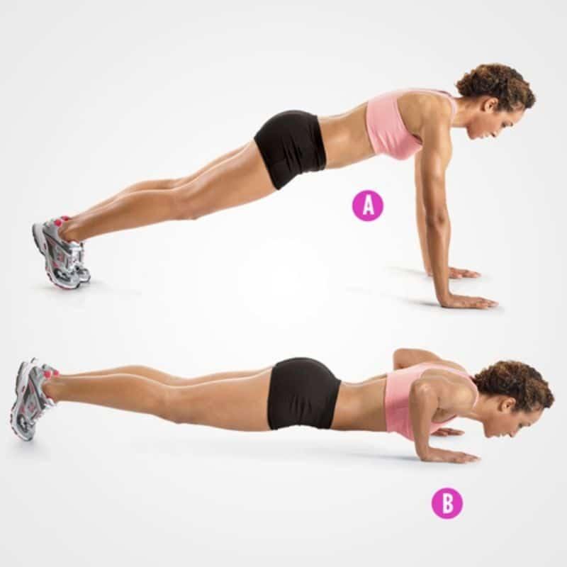 Hít đất là bài tập thể dục đối với cơ thể con người là rất to lớn