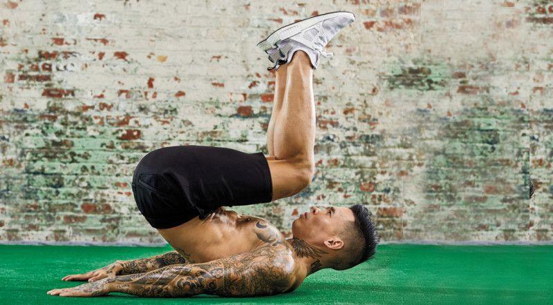 Gập bụng ngược - Cách giảm mỡ bụng cho nam hiệu quả