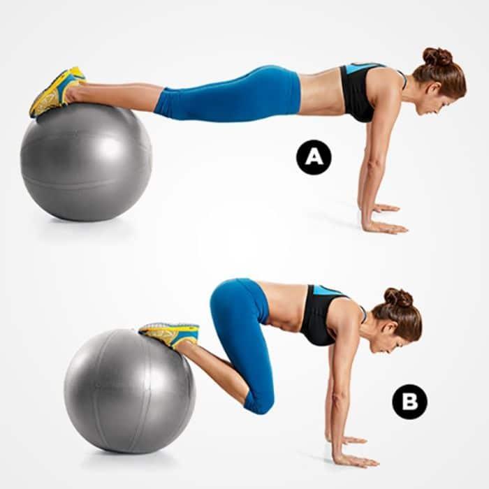 Bài tập 10: Tập lăn bóng giảm mỡ bụng dưới cho nữ