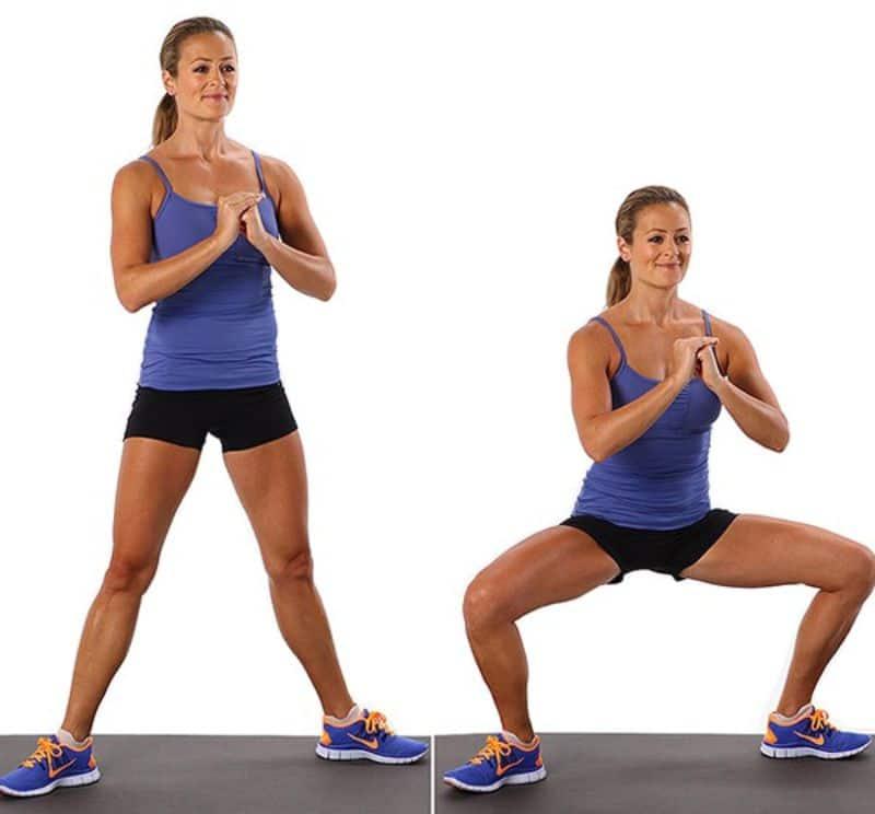 Squat có tác dụng tăng cường cơ mông, làm săn chắc phần đùi trước