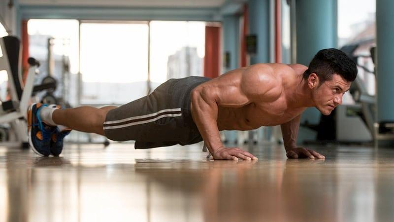 Bài tập hít đất phù hợp với cả nam và nữ với tác dụng giảm mỡ bụng hiệu quả