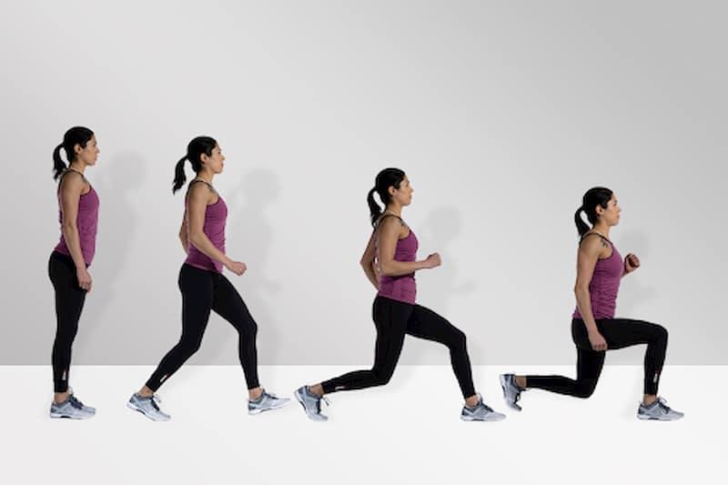 Một bài tập thần thánh mà được nam và nữ áp dụng nhiều là lunge