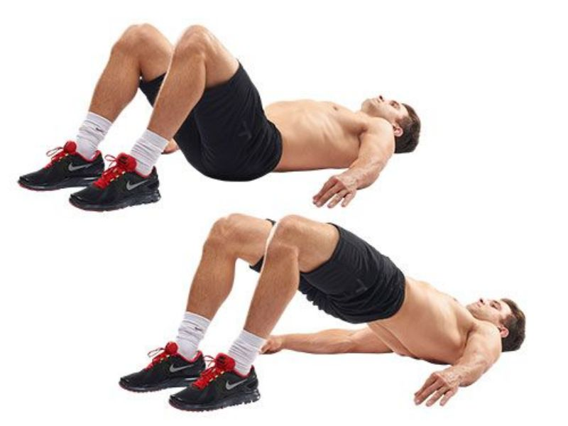 Hip Thrust là bài tập mông cho nam mang đến hiệu quả nhanh chóng hơn Squat