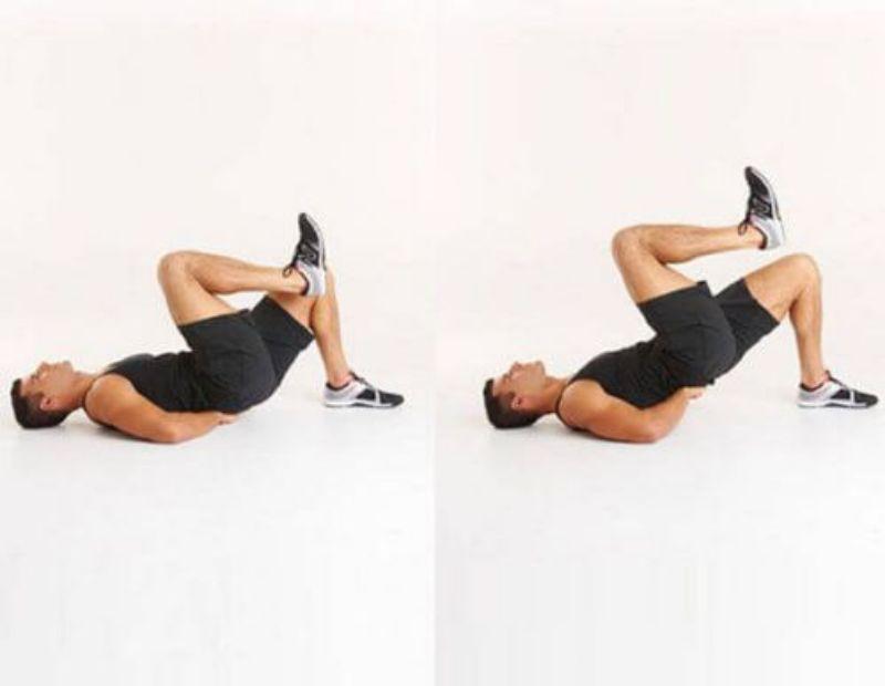 Nâng mông 1 chân Single-leg Hip Thrust là biến thể nâng cao của bài tập Hip Thrust