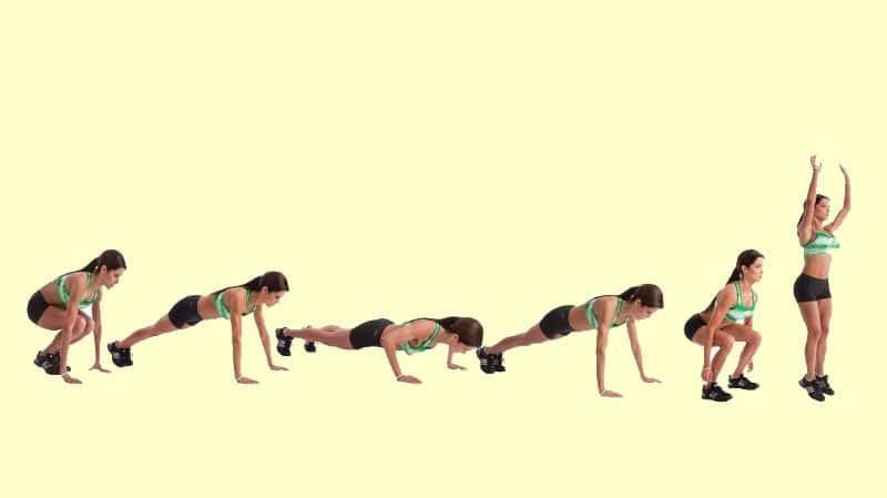 Thực hiện bài tập Burpee giúp cơ thể tiêu hao năng lượng đáng kể