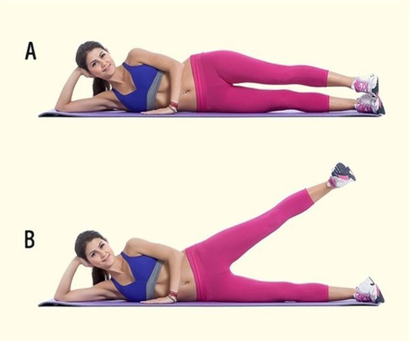 Đá chân 1 - Bài tập khởi động cho cơ thể nhanh chóng