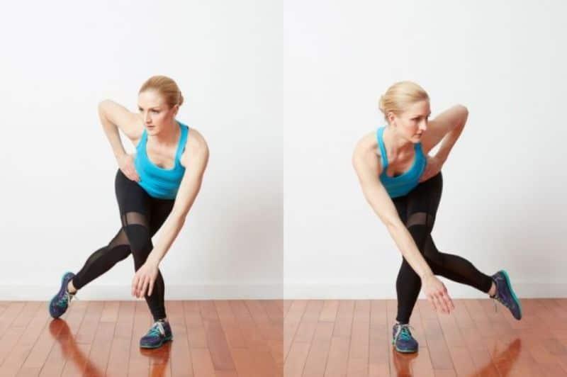 Bài tập 10: Bài tập thể dục giảm cân toàn thân Speed Skaters
