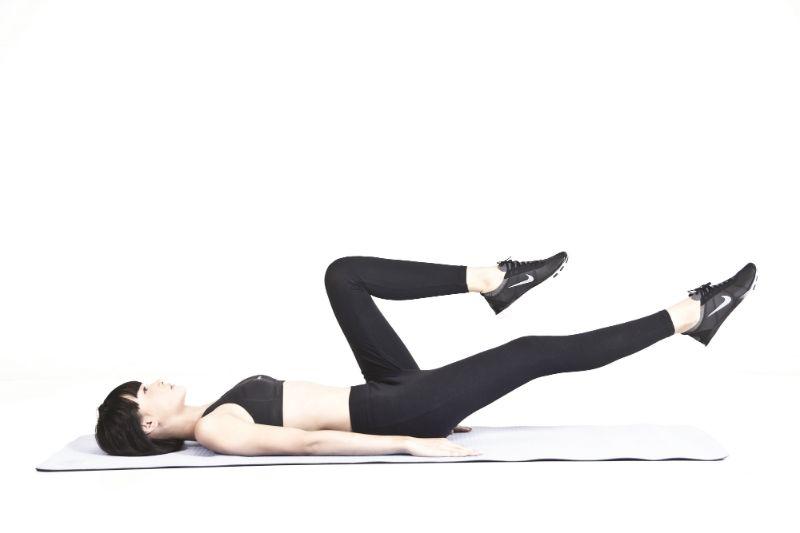 Bài tập đạp xe - Giảm mỡ bụng, giảm eo trong 1 tuần