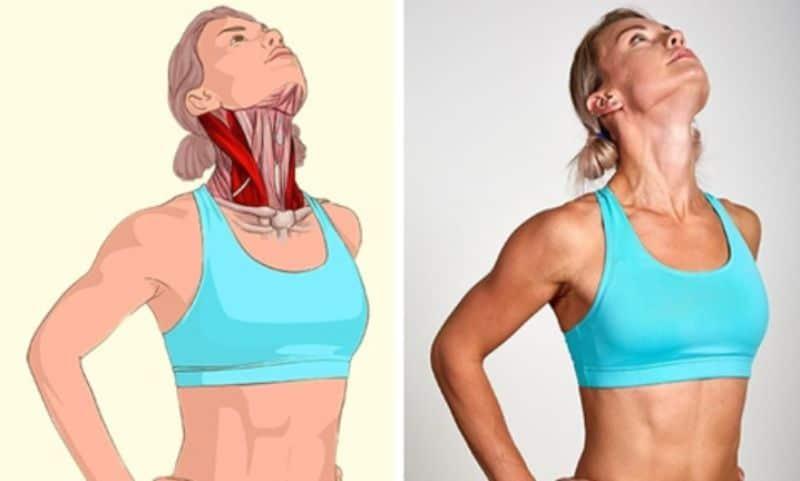 Nếu bạn muốn vùng cổ và bả vai thoải mái, thư giãn thì nên áp dụng động tác này