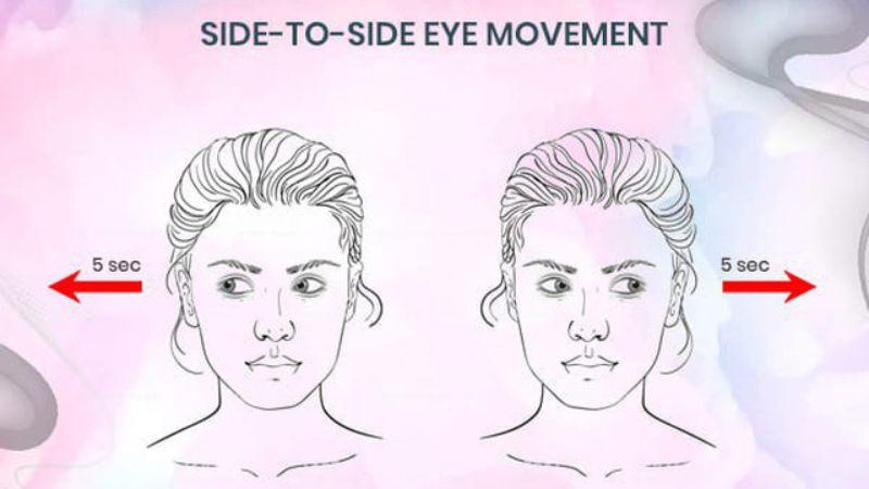 Bài tập chuyển động điểm nhìn cũng đơn giản trong cách thực hiện