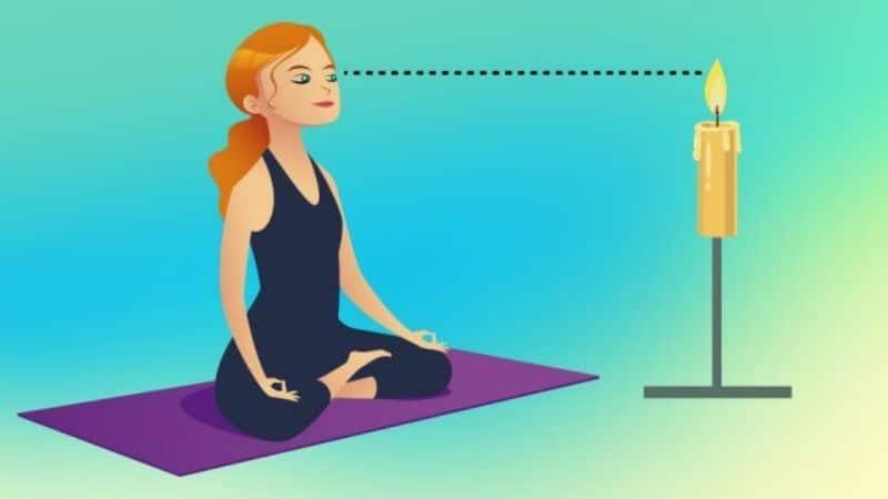 Trataka là một trong những bài tập về mắt lâu đời nhất trong yoga