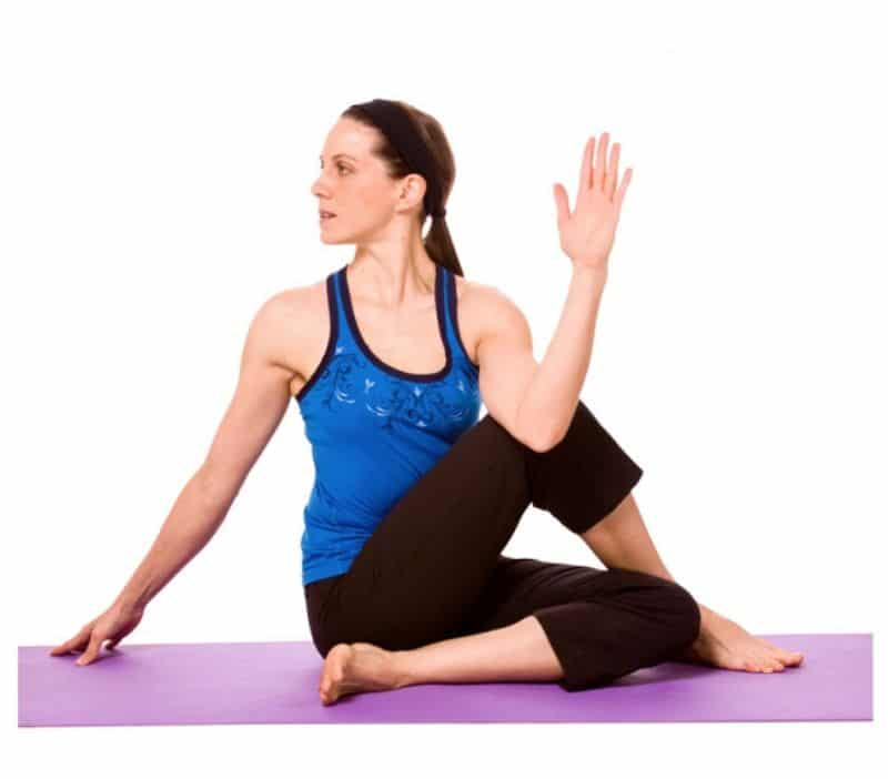 Tư thế yoga vặn cột sống có khả năng ngăn ngừa đau lưng, đau cột sống