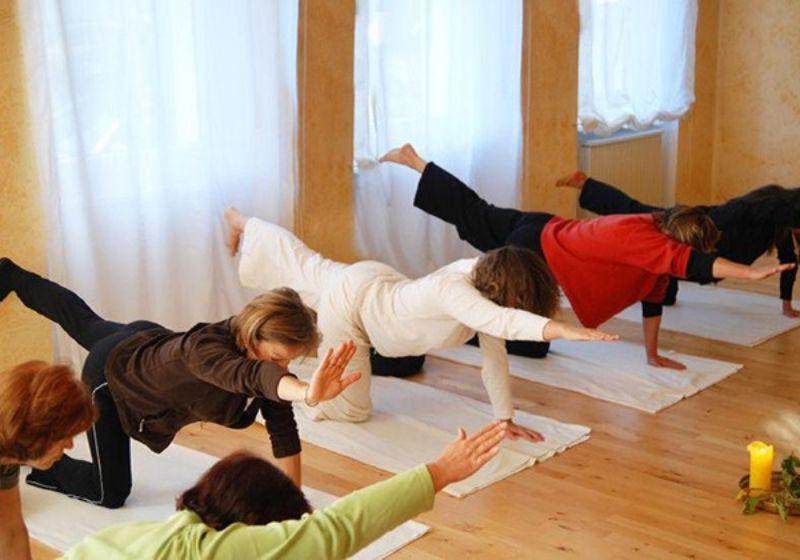 Bird Dog là một trong các bài tập yoga cho người cao tuổi đang rất được yêu thích