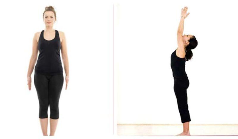 Tư thế quả núi là một trong những bài tập yoga đơn giản nhất