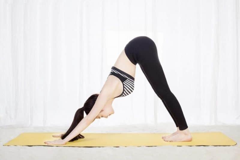 Bài tập yoga giảm cân với tư thế ngọn núi