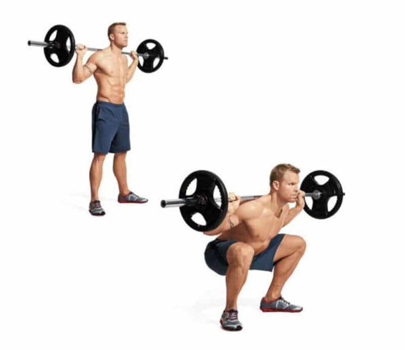 """Squat được biết đến là """"siêu"""" bài tập chân"""