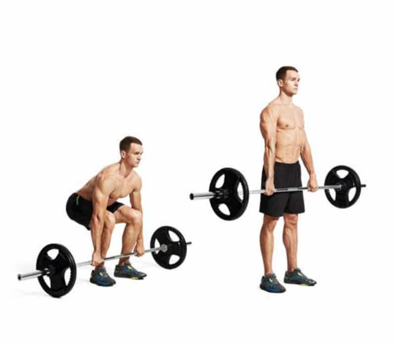 Nâng tạ cũng là bài tập giúp cơ chân được phát triển một cách tối đa và trở nên linh hoạt hơn