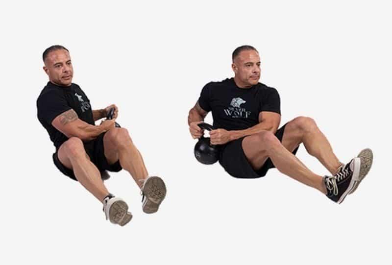 Vặn người kiểu Nga là bài tập tập trung chủ yếu vào vùng cơ liên sườn và thân trên