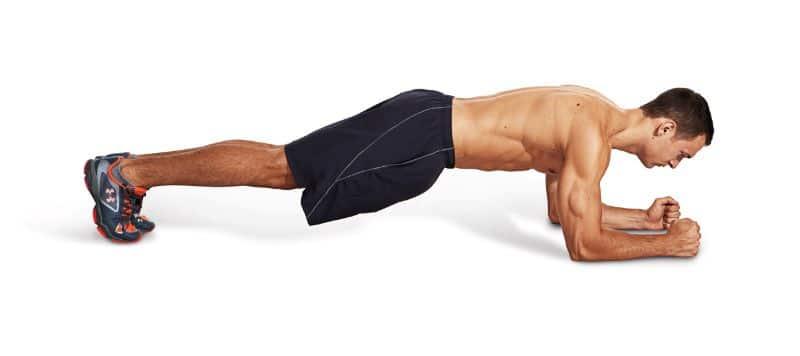 Plank là bài tập có thể đốt cháy mỡ thừa toàn thân một cách nhanh chóng