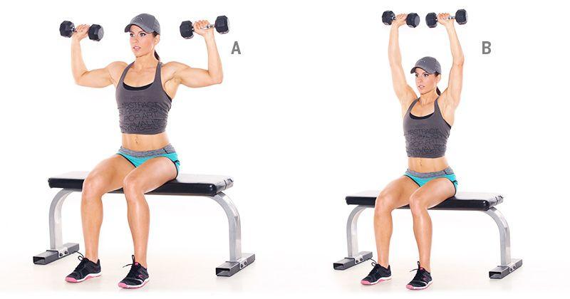 Bài tập vai cũng là một trong các bài tập gym cho nữ giảm cân hiệu quả mà bạn nên áp dụng