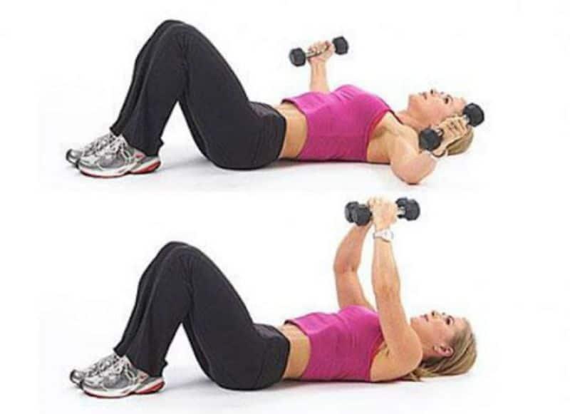 Bài tập cho ngực và vai cũng là một bài tập tác động mạnh mẽ đến các ngực, cơ vai