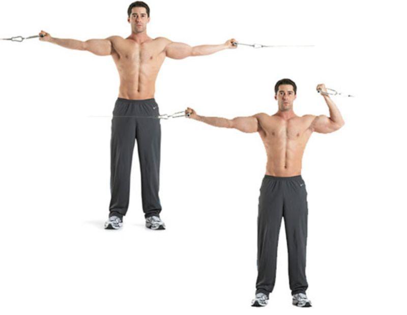 Bài tập gập cáp luân phiên sẽ giúp cho các cơ tay luôn luôn hoạt động tốt và linh hoạt