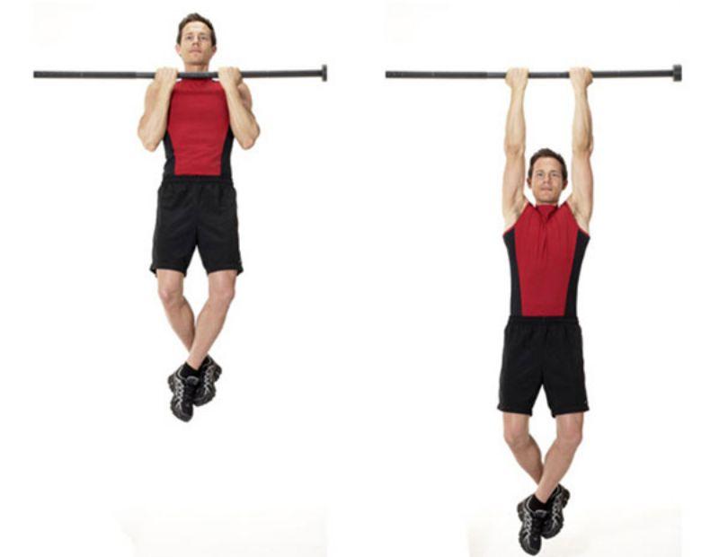 Hít xà thụ động không chỉ tác động mạnh mẽ tới cơ bắp tay mà còn giúp cải thiện hệ hô hấp