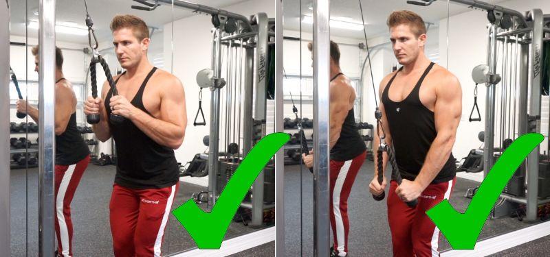 Triceps Pushdown - Giúp tạo nét cho cơ tay sau