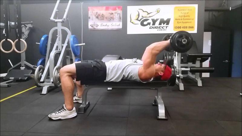 Olympic Triceps Extension - Giúp tăng sức cơ tay sau