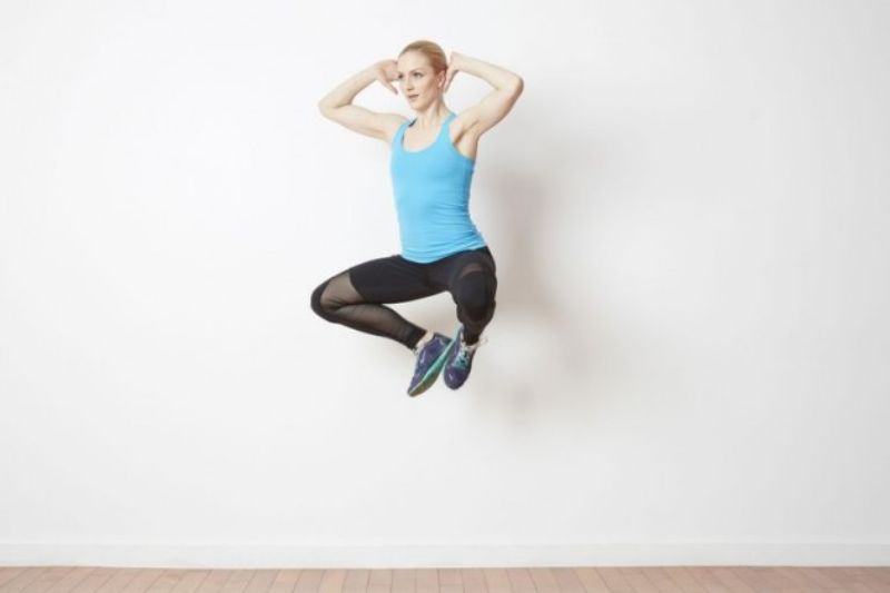 Nhảy cóc là hình thức vận động có khả năng đốt cháy lượng calo lớn