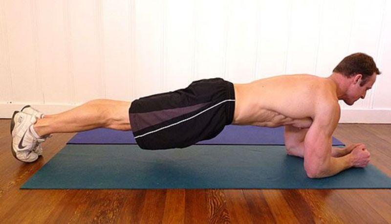 Nhắc tới những bài tập cơ bụng thì chúng ta không thể nào không nhắc tới Plank