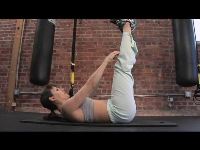 Bài tập Ankle Reach
