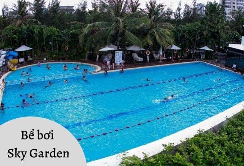 Bể bơi Sky Garden