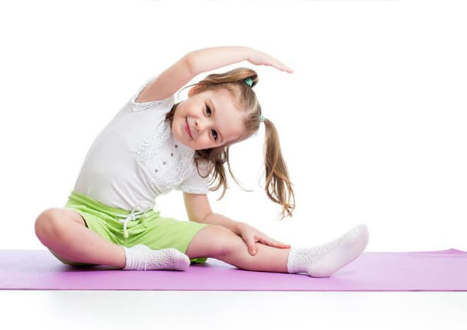 Tập Yoga giúp trẻ tự tin và năng động hơn
