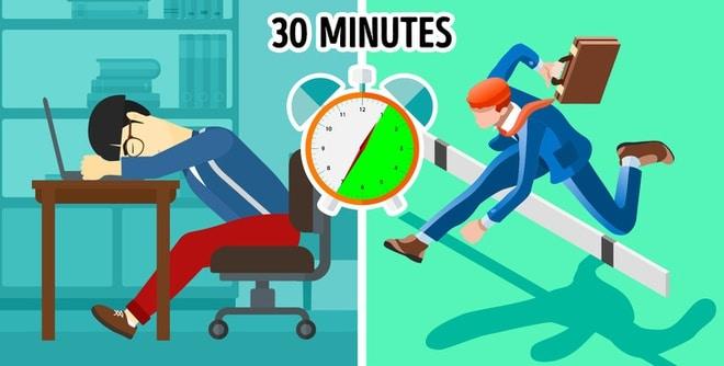 Thời gian ngủ trưa nên từ 20-30 phút